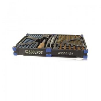 Zestaw PAX Locking 2.0/2.4mm Vet Set Securos