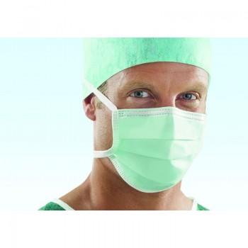 Maseczka chirurgiczna Classic (typII, zielona) Lohmann & Rauscher