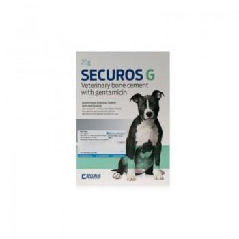 Cement kostny 20g z gentamycyną - Veterinary Bone Cement 20g with gentamicin Securos