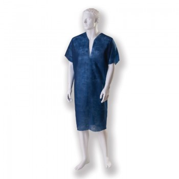 Koszula pacjenta z wycięciem Y (jednorazowego użytku, niejałowa) Zarys