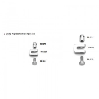 ESF U Clamp Individual Replacement Components Securos