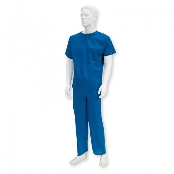 Bluza operacyjna z krótkim rękawem (włokninowa, niejałowe) Zarys