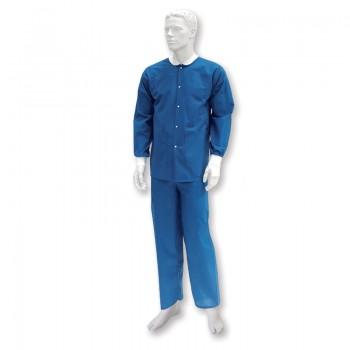Bluza operacyjna z długim rękawem (włokninowa, niejałowe) Zarys