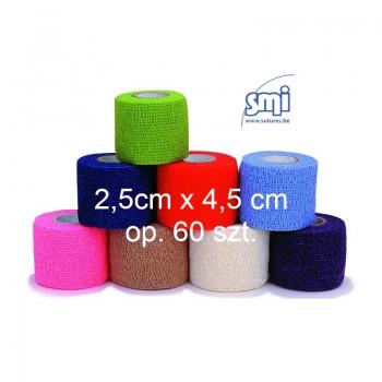 Bandaż samoprzylepny 2,5cmx4,5m Flex-Bandage (60szt/op) SMI