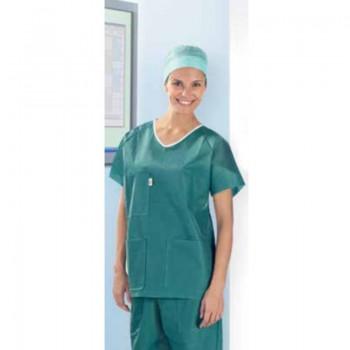 Komplet zabiegowy bluza+spodnie Sentinex Soft (spunbond, zielona) Lohmann&Rauscher