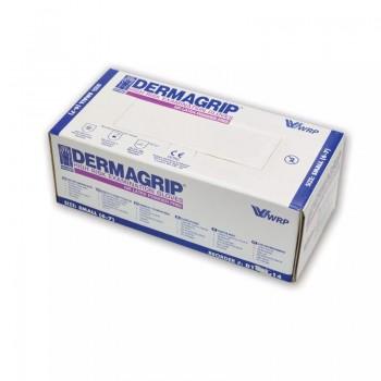 Rękawice diagnostyczne Dermagrip High Risk (specjalistyczne, bezpudrowe, 25 par) Zarys