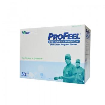 Rękawice chirurgiczne Profeel DHD Synthetic (neoprenowe, bezpudrowe, 50 par) Zarys