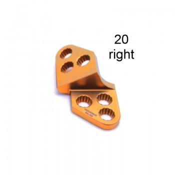 Płyta 3.5mm PAX Locking TPO Plates - Titanium (Gold, 6 Holes, Right, 20) Securos