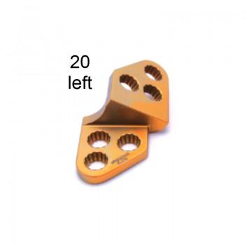 Płyta 3.5mm PAX Locking TPO Plates - Titanium (Gold, 6 Holes, Left, 20) Securos