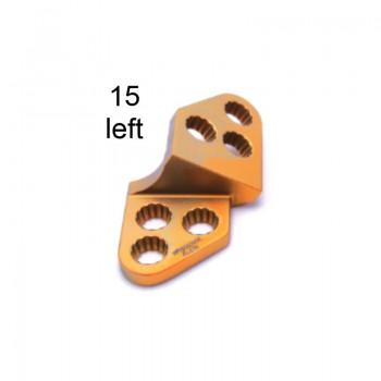 Płyta 3.5mm PAX Locking TPO Plates - Titanium (Gold, 6 Holes, Left, 15) Securos